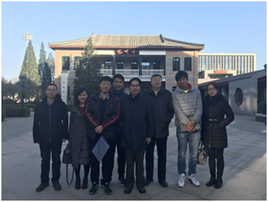 Faculty Attended Activities Backed by the Association of Six High Schools of China Held in Beijing No.35 High School