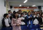 """民革西北师范大学附属中学支部赴临夏东乡举办""""助力高考·送教下乡""""活动"""